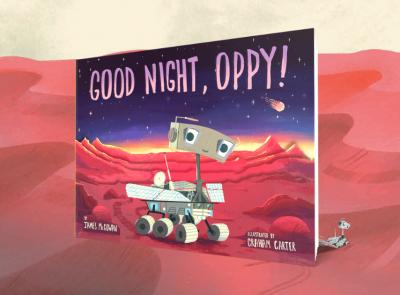 Good Night, Oppy Activity